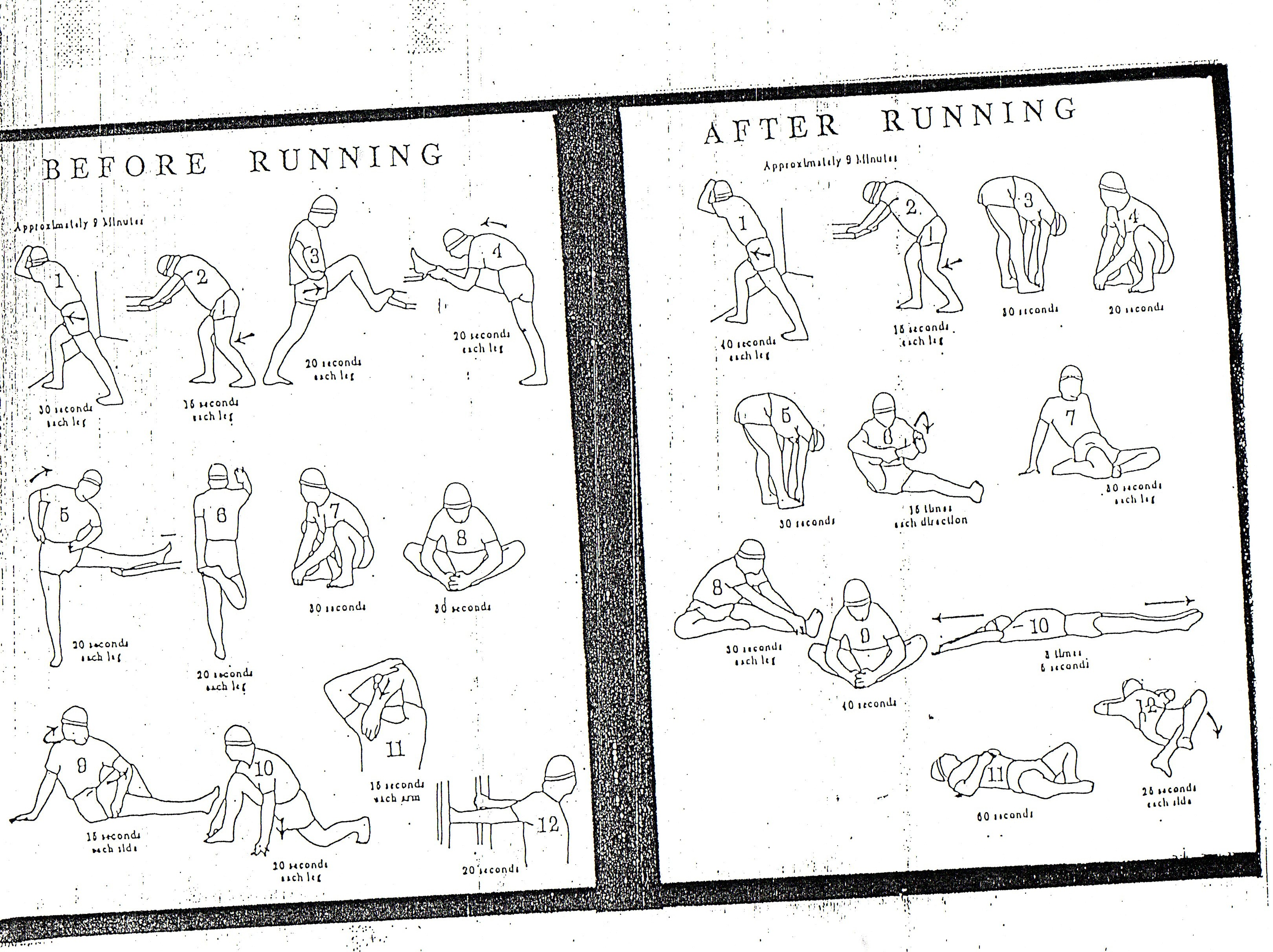 Stretching Exercises For Running - Viewing Gallery